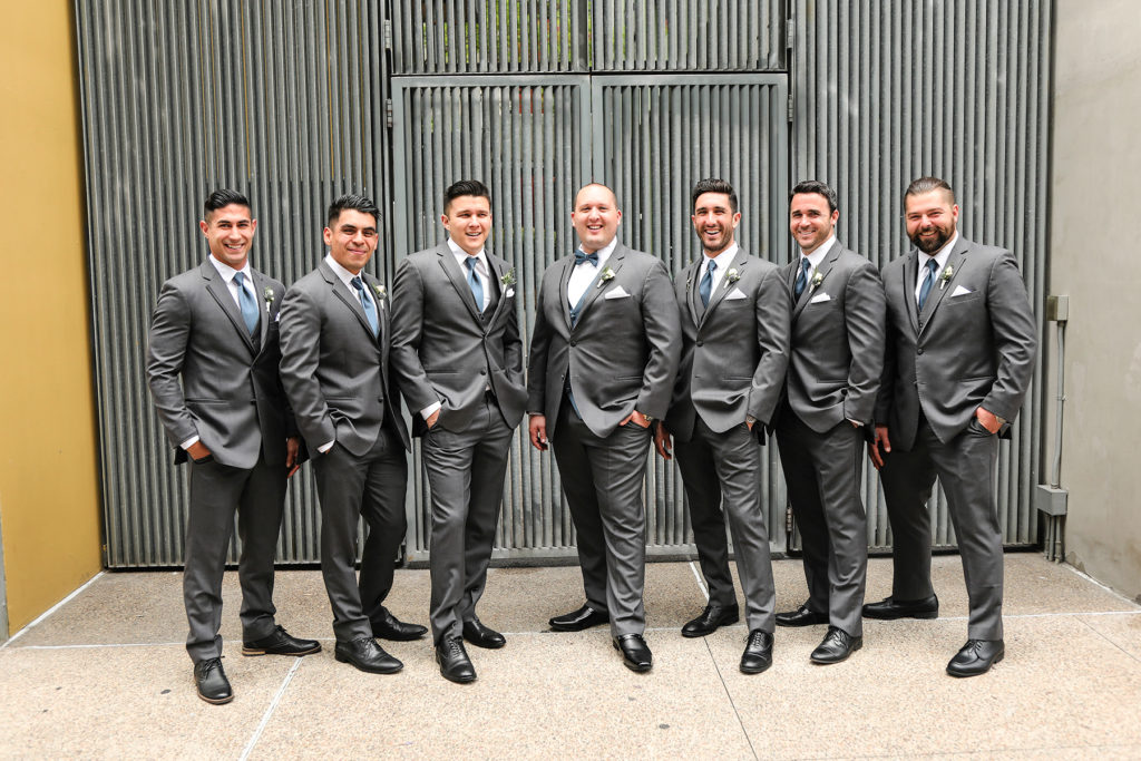 Groomsmen pictures downtown san diego