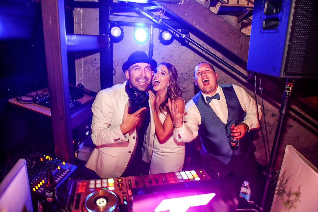 Wedding DJ Luce Loft Wedding Pictures in San Diego